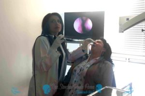Nasofibrolaringoscopia - Dra Sandra Zabala Parra || Durmiendo Bien ||Dinámica Diagnostica || Sueño